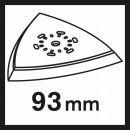 Bosch Starlock Schleifplatte AVZ 93 G 2609256956 Thumbnail