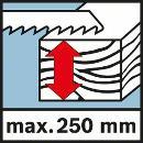 Bosch Akku-Säbelsäge GSA 18 V-LI, mit 2 x 4,0 Ah Li-Ion Akku, L-BOXX 060164J00A Thumbnail