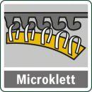 Bosch Akku-Multischleifer PSM 10,8 LI, mit 1 Akku, Ladegerät und Schnellladegerät 0603976903 Thumbnail