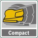 Bosch Akku-Multischleifer PSM 18 LI, ohne Akku und Ladegerät 06033A1301 Thumbnail