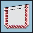 Bosch Hose mit Knietaschen - Schwarz WKT 09, Größe: 90C50 0618800239 Thumbnail