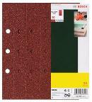 Bosch 25-teiliges Schleifblatt-Set für Schwingschleifer 2607017107 Thumbnail