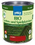 PNZ Bio Garten- & Spielplatz-Lasur (kaminrot, 0,75 L) Thumbnail