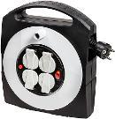 Brennenstuhl Primera-Line Kabelbox-S 4-fach mit Schalter schwarz/lichtgrau 10m H05VV-F 3G1,5 Thumbnail