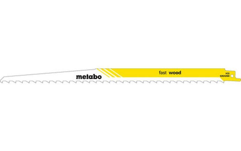 Metabo 5 Säbelsägeblätter HCS 300x1,25 mm//8,5 628242000