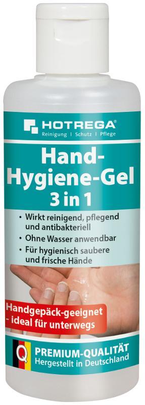 HOTREGA Hand-Hygiene-Gel 3 in 1 100 ml