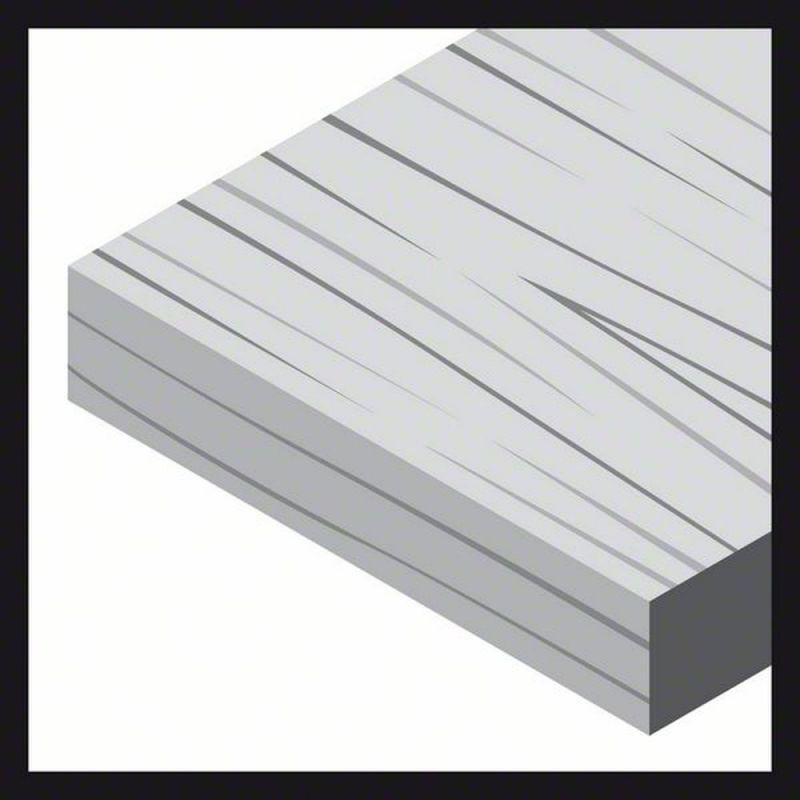 5er-Pack Bosch Schleifblatt Expert for Wood 8 Löcher mit Klett