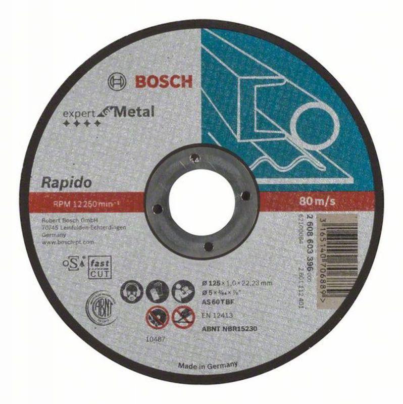 Bosch Trennscheibe Gerade Expert For Metal Rapido As 60 T Bf 125