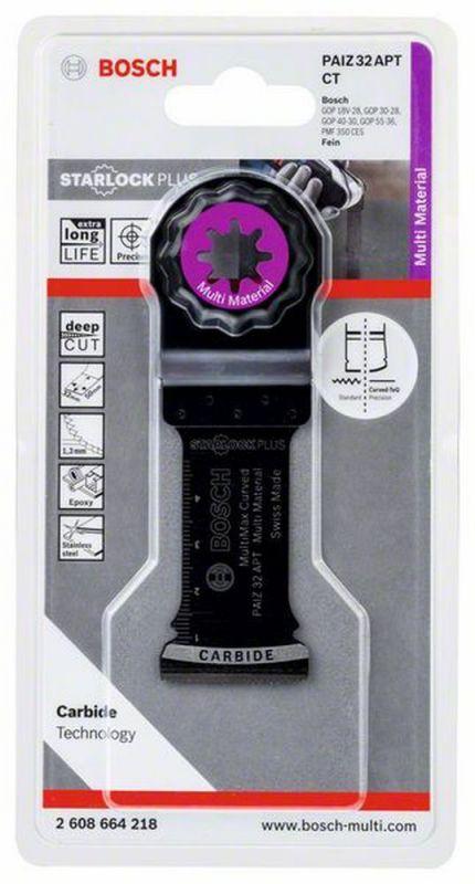 Bosch Professional 2608664218 Präzisionsblatt PAIZ 32 APT 32 x 50 mm Starlock+