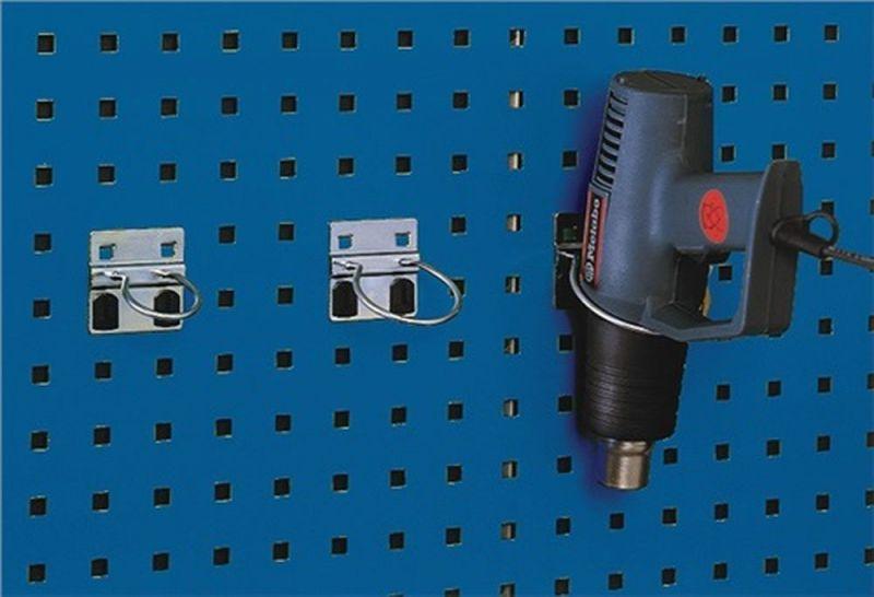 Rundhalter D.60mm verz.f.Lochplatten 5St.//Btl.BOTT
