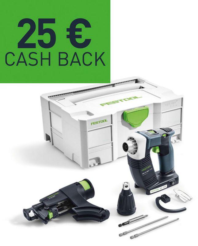 Festool cashback aktion