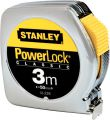 Stanley Bandmass Powerlock Metall 3m/12,7mm - 0-33-218