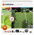 GARDENA 02708-20 Komplett-Set mit Vielflächen-Versenkregner Aq