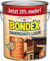 Bondex Dauerschutz-Lasur Nussbaum 3,00 l - 329898