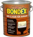 Bondex Holzlasur für Außen Ebenholz 4,00 l - 329668