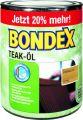 Bondex Teak-Öl Farblos 0,90 l - 352102