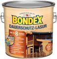 Bondex Dauerschutz-Lasur Weiß 2,50 l - 329930