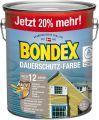 Bondex Dauerschutz-Holzfarbe Schneeweiß 3,00 l - 365222