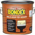 Bondex Holzlasur für Außen DunkelGrau 2,50 l - 365230