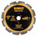 DeWalt Kreissaegeblatt PCD 250/30mm 12Z - DT1474-QZ