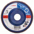 BOSCH Fächerschleifscheiben X551, Expert for Metal, gerade Ausführung - EN 13743