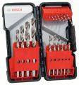 Bosch 18tlg. Toughbox Metallbohrer-Set HSS-R, 118° 2608589294