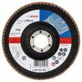 BOSCH Fächerschleifscheiben X431, Standard for Metal, gewinkelte Ausführung - EN 13743
