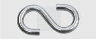 SWG S-Haken 4 mm Stahl verzinkt  4 Stück - 68017584180