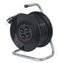 as-Schwabe 11104 Aktions-Sicherheits-Kabeltrommel 230mmØ, 25m H05VV-F 3G1,5