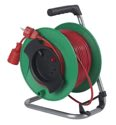 as-Schwabe 12323 Sicherheits-Gerätetrommel 230mmØ grün, 25m H05VV-F 3G1,5