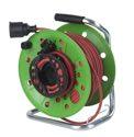 as-Schwabe 12536 ATS-Gerätetrommel 230mmØ grün, 25m H05RR-F 3G1,5