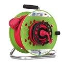 as-Schwabe 12539 ATS-Gerätetrommel 290mmØ grün, 50m H05RR-F 3G1,5
