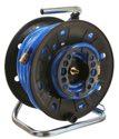 as-Schwabe 12623 Druckluft-Trommel DKV 60 S+W 9x3mm, 20m PVC Druckluftschlauch
