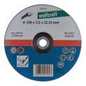 wolfcraft 1 Trennscheibe Met.gek. ø230x2,5x22,2mm