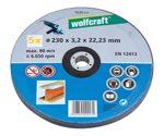 wolfcraft 1 Sparp.Trennscheiben Metø230x2,5x22,2mm
