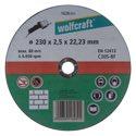 wolfcraft 1 Trennscheibe Stein ø230x2,5x22,2mm