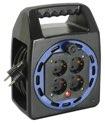 as-Schwabe 16410 Kompakttrommel KBS 204T blau, 10m H05VV-F 3G1,5
