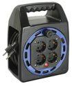 as-Schwabe 16423 Kompakttrommel KBS 404T blau, 25m H05VV-F 3G1,5