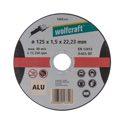 wolfcraft 1 Trennscheibe Aluminium ø125x1,5x22,2mm
