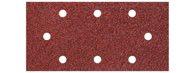 wolfcraft 5 Haft-Schleifstr. K80, gelocht 93x190mm