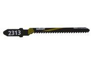 wolfcraft 2 Stichsägeblätter breit HCS L=50mm