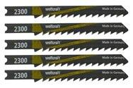 wolfcraft 5 Stichsägeblätter Art.2300 HCS L=60mm
