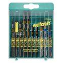 wolfcraft 1 Stichsägeblatt-Box sort., 10-teilig - 2356000