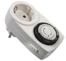 as-Schwabe 24030 Tages-Zeitschaltuhr IP20 mechanisch, Kinderschutz