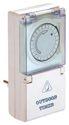 as-Schwabe 24031 Tages-Zeitschaltuhr IP44 mechanisch, Kinderschutz