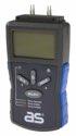 as-Schwabe 24103 Feuchtigkeitsmessgerät für Holz und Baustoffe, ideal für Beton-Wand und Decke, Estrich-Boden etc.