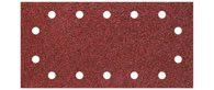 wolfcraft 5 Haft-Schleifstreifen,K80,115x230mm,gel