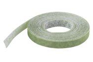 wolfcraft 1 Klett-Binder grün für Garten, 5m