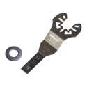 wolfcraft 1 BiM Tauchsägeblatt, für Profilbretter, Bleche, NE-Metalle, Kunststoff 65 mm