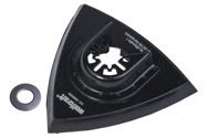 wolfcraft 1 Dreiecks-Haftschleifplatte